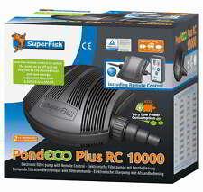 SF Teichpumpe Pond ECO Plus 10000 Fernbedienung 13-68 Watt Filterpumpe Bachlauf
