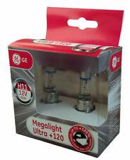 H11 GE MegaLight Ultra 120% mehr Licht General Electric 2er Set 53110SNU