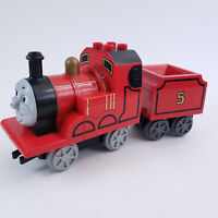 Lego Duplo Thomas & Friends James #5 Red Engine Train with Tender