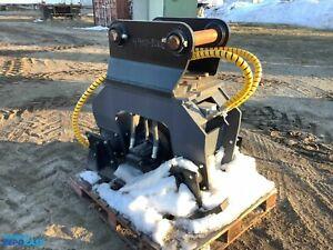 *New* Atlas Copco RC850 hydraulic compactor excavator attachment