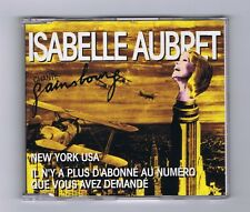 MAXI CD SINGLE ISABELLE AUBRET CHANTE GAINSBOURG NEW YORK USA