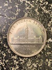 1939 Canada $1 1 Dollar Lot#Z1492 Large Silver Coin! High Grade! Beautiful!