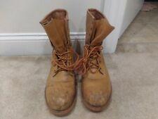 Vintage Greb Kodiak steeltoe Leather Work Boots Sz 12 Canada Lace Up
