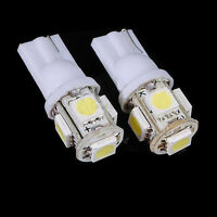 10 PCS T10 5050 SMD 5 LED Wedge Tail auto Licht 194 168 Glühbirne weiß