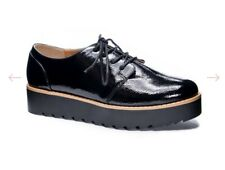 NEW Chinese Laundry  Platform Oxford Womens Sz 8.5 Black