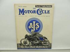 June 1959 THE MOTORCYCLE Magazine AJS Ariel BSA Norton Shooting Star L8104