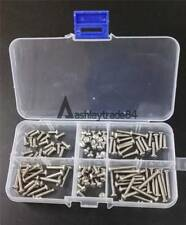 120pcs M3 Button Head Socket Cap Screw Qty Assortment Kit