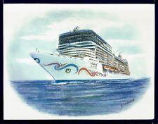 Original Art Work ms NORWEGIAN EPIC..cruise ship..NCL