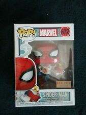 Funko Pop! MARVEL Box Lunch Exclusive SPIDER-MAN with Pizza #672, New in Hand