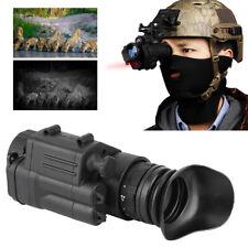 Elektronik Nachtsichtgerät bis 500m Sichtweite Monokular IR LCD Wasserdicht Neu