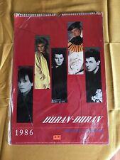 "Vintage 1986 Duran Duran Official Calendar 11-1/2"" x 16"" sealed brand New"