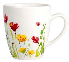 Porcelain Mug with Floral Decal Made in Russia 12 fl oz Coffee Tea Mug