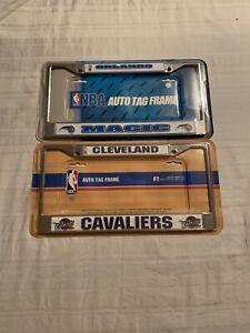 NBA Assorted Teams License Plate Frame RICO Brand New