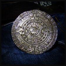 SALE!!! The Mayan Calendar Bronze Belt Buckle