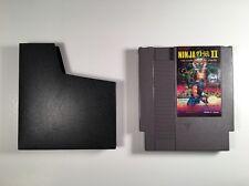 NINJA GAIDEN II 2 THE DARK SOWARD OF CHAOS -- NES Nintendo Original Game TESTED