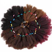 "Keyah 18"" Afro Kinky Bulk Hair Synthetic Extensions Crochet Braiding Twist Hair"