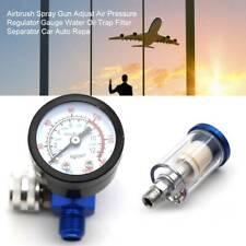 Airbrush Spray Gun Air Pressure Regulator Gauge Oil Water Trap Separator Filter