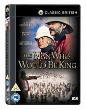 THE MAN WHO WOULD BE KING (1975) DVD MOVIE NEW PAL