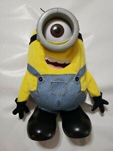Minions Tumblin' Stuart Figure MIB Tumble Fall & Rise Thinkway Toys Movie Voice!