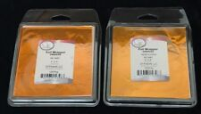 """SET OF 2 CK Products Foil Candy Wrappers, 4"""" x 4"""" Orange 125-Pack NEW Halloween"""