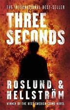 Three Seconds, Anders Roslund, Borge Hellstrom, Very Good condition, Book