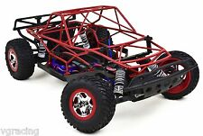 Traxxas Slash 2x4 LCG Powder Coated Red Roll Cage Fits Traxxas 58076-21