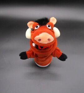Disney Store Lion King Pumbaa Hand Puppet Plush Stuffed Animal Original