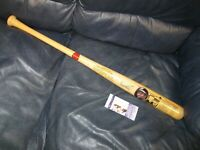 Frank Robinson Autographed Cooperstown Baseball Bat JSA Certified