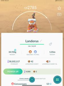 Pokémon GO LANDORUS  THERIAN FORM REMOTE RAID INVITE (9AM-12PM) READ DESCRIPTION