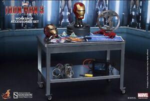 Sideshow Iron Man 3 - Workshop Accessories - New In Box