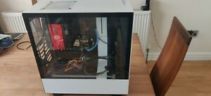 GAMING PC ICORE 5 4590 32GB RAM 2 X SSD 2 X HDD WHITE NZXT CASE