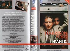 FRANTIC - Harrison Ford - VHS - PAL - NEW - Never played! - Original Oz release