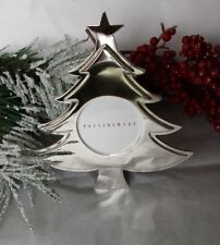 Nib Pottery Barn Small Table Standing Figural Tree Picture Photo Silver Frame
