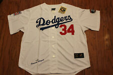 Los Angeles Dodgers #34 Valenzuela White Home Jersey w/Tags Size S(Adult)