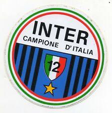 INTER ADESIVO RARO 12 CAMPIONE D'ITALIA SCUDETTO 1979-80