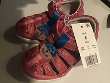 surprize by stride rite val shoes for girls pink size 8