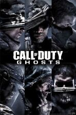 2013 ACTIVISION CALL OF DUTY GHOSTS TEAM GRID  POSTER 22X34 NEW FREE SHIPPING