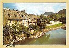 BT10892 Mende vieilles maisons au bord du lot        France