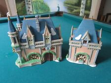 Disney Dept. 56 Heritage Village Collect Mickeys Christmas Carol lighted houses