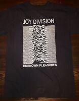 Joy Division - Unknown Pleasures T-Shirt Size (Small-XL) 80's