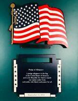 Shelia's Stars & Stripes/Pledge of Allegiance Shelf Ledge Ornament