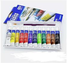 Free Paint Brush Color Set Draw Paint Tube  12 Color Painting    5ml