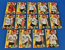 PANINI Adrenalyn XL World Cup 2010 ALLE 14 Base Cards Deutschland / Complete