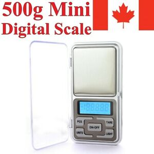 Digital Pocket Mini Scale 500g/0.1g Jewelry Gold Silver Coin Gram Grain Herb