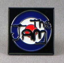 Metal Enamel Pin Badge Brooch The Jam Mod Punk Rock Band Music