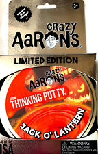 Jack O' Lantern Halloween Glow in the Dark Crazy Aaron's Thinking Putty Limited