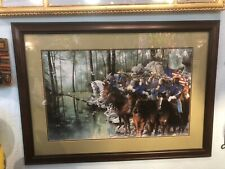 Quiet Before The Storm Limited Edition Print - Buffalo Soldiers Edward Wright