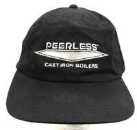 Peerless Cast Iron Boilers Strapback Cap Hat RCC Koozie Norwood Brand