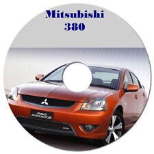 MITSUBISHI 380 2005 - 2008 FACTORY WORKSHOP MANUAL CD OR DOWNLOAD