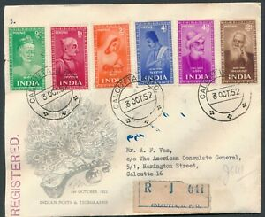 India. Indian Saints 1952 on cover